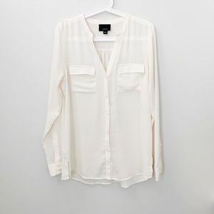 Lumiere button blouse